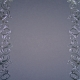 Madison Scrolls Background - Black - Silver Foil