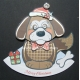 Kanban Christmas Wobblers - Dexter the Dog