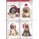 Kanban - Dogs in Santa Hats
