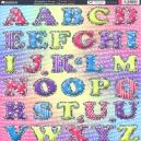 Alphabet Soup - Vivid Pink